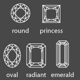 cultured diamond cut shapes