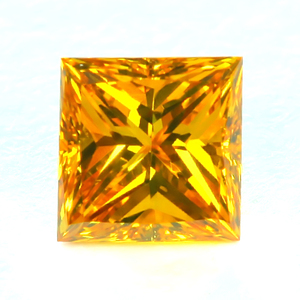 0.14 Fancy Orange Yellow Round
