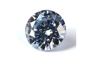 0.61 carat Round cut Fancy Blue diamond
