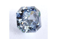 1.59 carat Radiant cut Fancy Deep Blue diamond